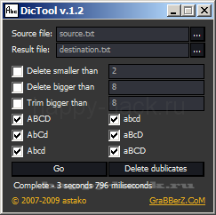 DicTool
