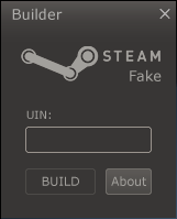 Steam Fake Builder