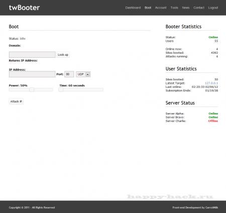 Twbooter v2 + v3 + Attack-Script