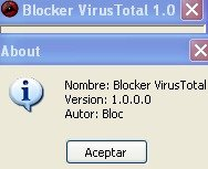 Blocker VirusTotal 1.0