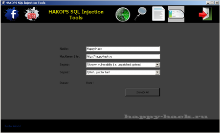 HAKOPS SQL Injection Tools