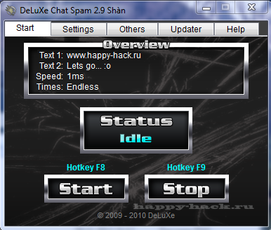 Deluxe Chat Spam 2.9 (flooder)