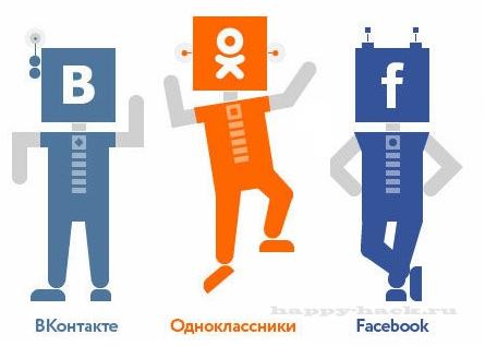 Скрипты 'скрытые подписки' для VK,OK,FB