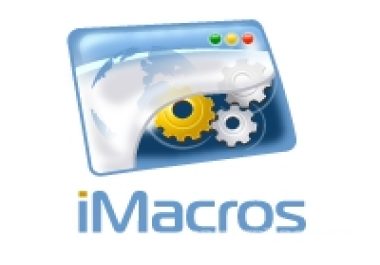Скрипты Imacros для социальных сетей