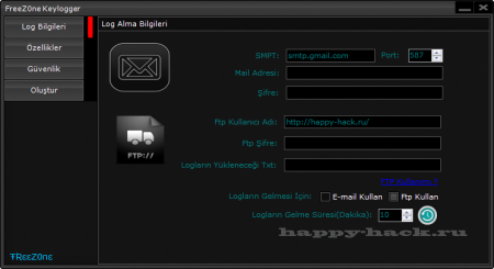 FreeZ0ne Keylogger v3 update