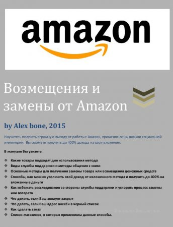 Профессиональный Refaund Amazon [manual]
