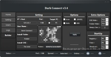 Dark Connect v3.4
