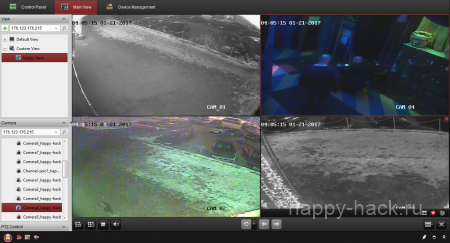 База взломанных веб камер